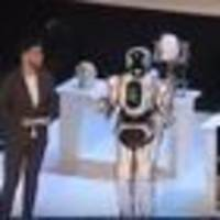 Hi-tech Russian robot exposed as man in costume