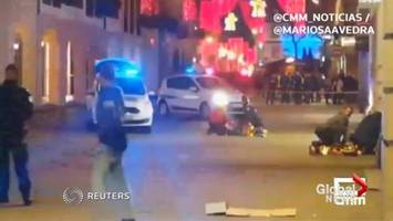 Suspect in fatal France Christmas market attack still at large