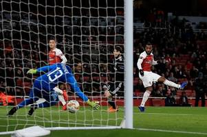 Arsenal player ratings: Nketiah excellent, Saka exciting, Lacazette clinical