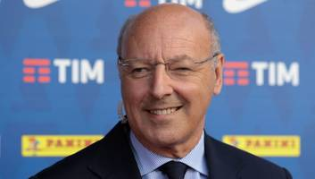 inter officially unveil former juventus director giuseppe marotta as new ceo of sport