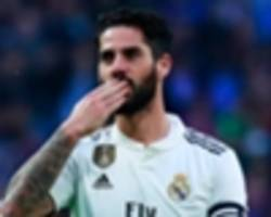 Isco a ticking time bomb heading for explosive Real Madrid exit