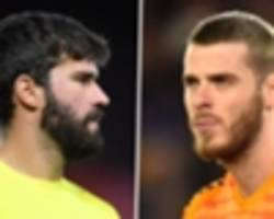 'the best goalkeeper in the premier league' - how life-saver alisson surpassed de gea