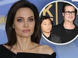 angelina jolie 'told son pax that brad pitt never wanted to adopt him' during their bitter divorce