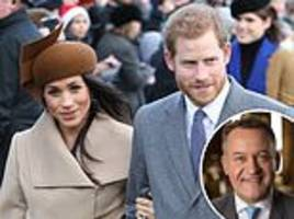 Diana's butler Paul Burrell tells Meghan Markle to stay close to Harry at Sandringham