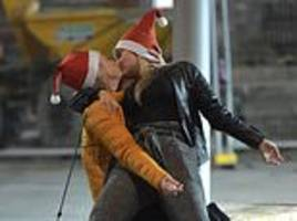 santa-hatted revellers hit the streets of britain for the biggest christmas party night of the year