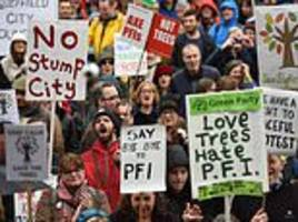 Sheffield tree protest victory after 300 are saved from council cuts