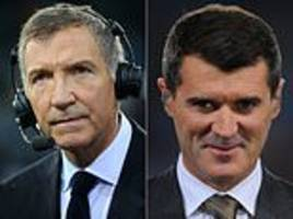 how do punditry pair graeme souness and roy keane compare?