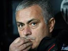 liverpool match could be the biggest game in jose mourinho's time as man united boss