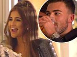 Sam Bird shocked as he awkwardly reunites with ex Georgia Steel for Love Island's Christmas special