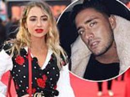 Stephen Bear SPLITS from Georgia Harrison... as he brushes off claims he 'cheated'