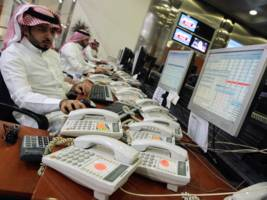 saudi arabia has reportedly been propping up its stock market when things go bad