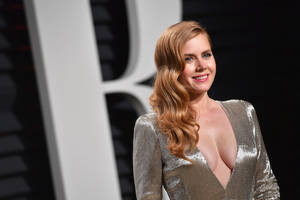 amy adams on why she 'became the first woman in history to reject a hug from brad pitt' (video)