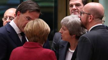 brexit: eu pledges to may unlikely to soften critics