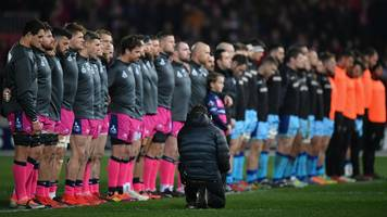 Nicolas Chauvin: Clubs to hold minute's silence for dead Stade Francais player