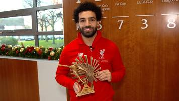 Mohamed Salah: Liverpool forward wins BBC African Footballer of the Year 2018
