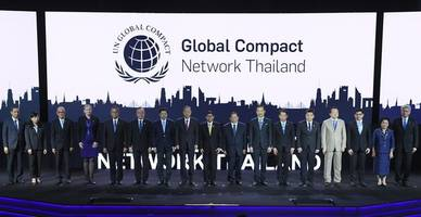 ban ki-moon attends launch of global compact network thailand, setting off private-sector collaboration for country's sustainable development