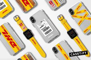 CASETiFY Restocks Sold Out DHL x CASETiFY Tech Capsule Collection