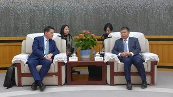 shenzhen municipal people's government welcomes informa global exhibition delegation