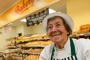 is irene grice from solihull britain's oldest worker - and she has two jobs