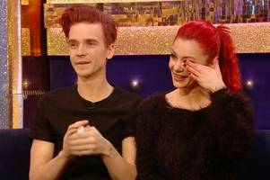 Strictly's Joe Sugg cries as family say he's 'come out of his shell' since meeting Dianne Buswell