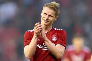 aberdeen squad revealed as gary mackay-steven remains out for st mirren clash