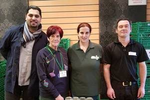 award-winning curry house serves up donations to foodbank