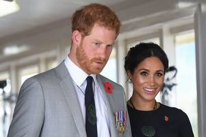 Prince Harry and Meghan Markle reveal their unusual Royal Christmas card