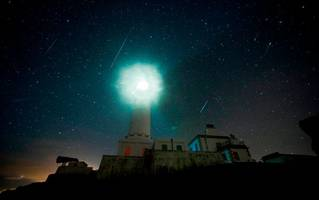 scotland's skies lit up with incredible meteors - and there's still time to see them