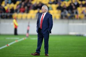 warren gatland's dream of coaching the all blacks may hinge on how far wales get at the world cup