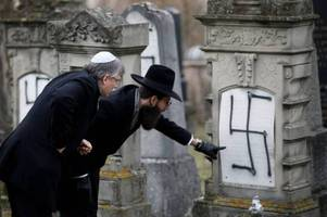 Anti-Semitic acts spike 69% in France, highlighted by 37 Holocaust survivor gravestones vandalized