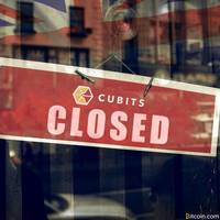 u.k. cryptocurrency exchange cubits shuts down after $33m scam