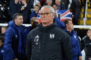 Claudio Ranieri transcript: Every word on West Ham, injuries and Fulham fighting like lions