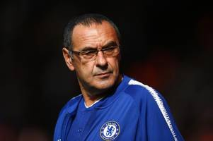 maurizio sarri blasts 'stupid people' after alleged racial and anti-semitic incidents