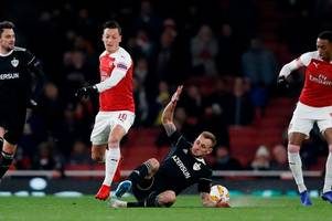 ozil's outrageous skill, koscielny's smile & nketiah's frustration - arsenal moments you missed