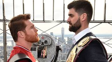 'he doesn't make many mistakes but i could get to him' - fielding ready to upset alvarez