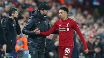 liverpool injury crisis deepens as trent alexander-arnold is ruled out for man utd match