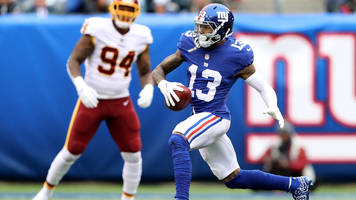 odell beckham jr. out vs. titans with quad injury