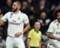 real madrid on the march but hit 25-year low in front of goal