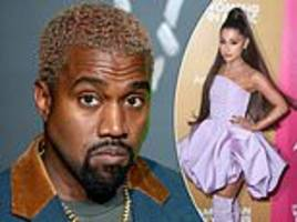 Kanye West SLAMS Ariana Grande for using his feud with Drake to promote her new single
