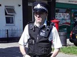met police officer faces the sack after he is caught pleasuring himself