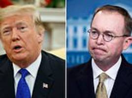 trump's new chief of staff mick mulvaney once called him terrible human being