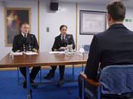 why did channel 5 chiefs blur out a portrait of a british naval hero in their new documentary?