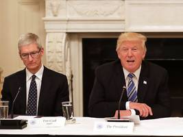 apple's big campus announcement had a very specific audience — trump (aapl)