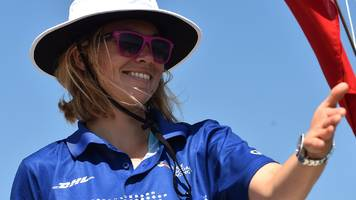 susie goodall: british sailor would attempt golden globe race again 'in a heartbeat'