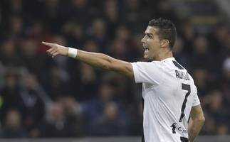 Serie A round-up: Cristiano Ronaldo penalty settles Turin derby