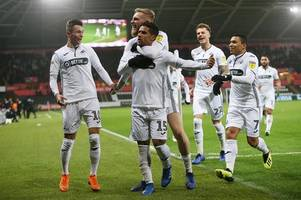 the swansea city player ratings as game changer bersant celina delivers the goods against sheffield wednesday