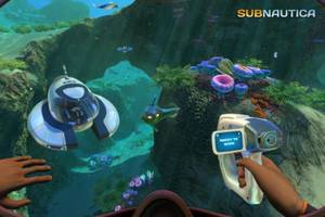 free copies of subnautica: epic games store kickstarts your library with a winner