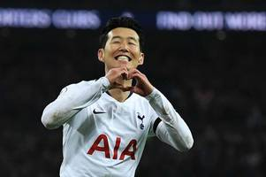 the spurs games heung-min son will miss while representing south korea at next month's asian cup