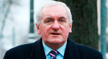 bertie ahern: 'ireland can't give an inch on avoiding hard border'
