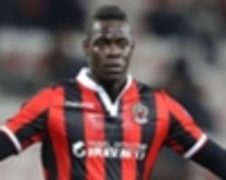 Balotelli 'expects to be scoring on one leg' says Vieira as goal drought continues